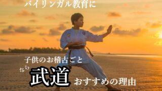 こどものお稽古ごとに「武道」がオススメ!バイリンガル教育に役立つ8つのメリット